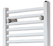 Product example of towells-warmer radiators and faucets